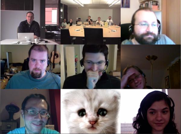 """Team Meeting"" by Jennifer Morrow"