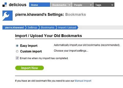 Social Bookmarking, Delicious