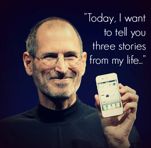 Steve Jobs Telling Stories