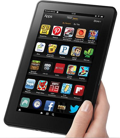 Kindle Fire Tablet Apps