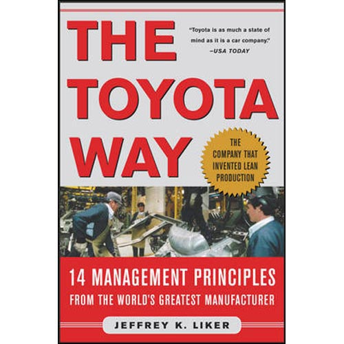 the toyota way lean book